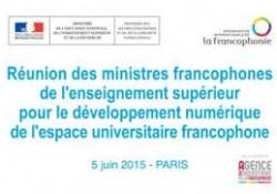 Développement numérique de l'espace universitaire francophone