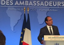 Discours d'ouverture du président de la République à l'occasion de la Semaine des Ambassadeurs