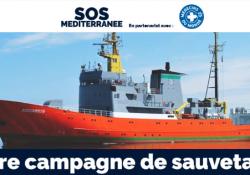 Mon soutien à SOS méditerranée