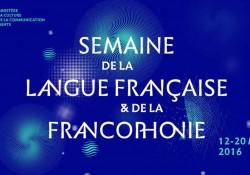 Voyage en francophonie à l'occasion de la Semaine de la langue française 2016