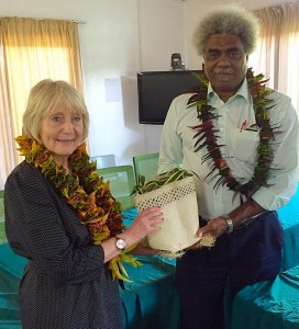 Avec le ministre de l'Education et de le Formation